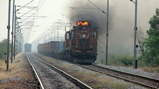 Diwali Special !! Firing Smoke : Indian Railway