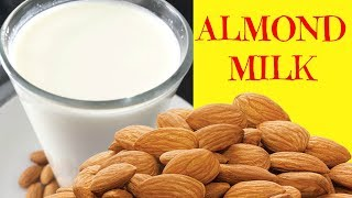 How to Make Almond Milk | Homemade Almond Milk