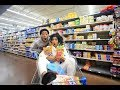 CRAZY GROCERY SHOPPING WITH DK4L | VLOGM...mp3