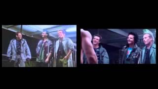 Terminator Genisys vs Terminator 1 | Punks Side-by-Side