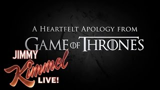 Game of Thrones Producers Apologize for Hodor
