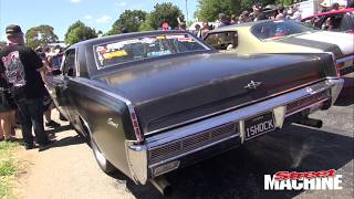 BARRA TURBO IN A 1966 LINCOLN CONTINENTAL!