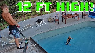 ROOF JUMPING CRAZY 8 YEAR OLD!