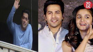 Salman Khan Hosts Eid Bash | Alia Bhatt-Varun Dhawan At A Marathi Song Launch
