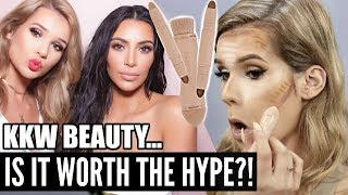 HONEST REVIEW of KKW BEAUTY Contour Kits | Worth it or Toss it?!