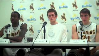 Wyoming 70, Regis 35: Player reaction