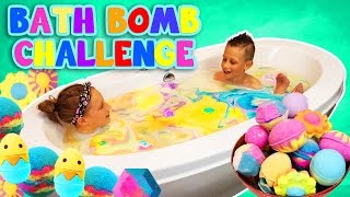 BATH BOMB CHALLENGE!