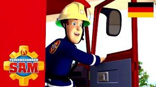 Feuerwehrmann Sam Deutsch Neue Folgen   Ein Ausflug ins Wasser 🚒 Gegen die Flammen   Kinder Cartoon