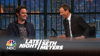 Bill Hader on the Origin of Stefon - Late Night with Seth Meyers