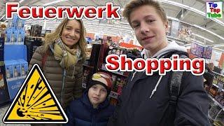 Silvester Feuerwerk Einkaufstour 2016/17 Teil 3 REAL | Kleine Pyrologen | Knaller Shoppen Vlog