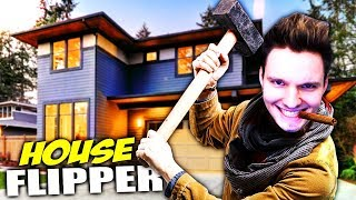 HÄUSER ZERSTÖREN UND BEZAHLT WERDEN !!!   House Flipper