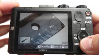 Sony Cyber-shot DSC HX60-V Shooting Modes review / camera tutorial