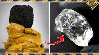 Turning Coal into Diamonds, using Peanut Butter