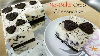 No-Bake Oreo Cheesecake [in English]