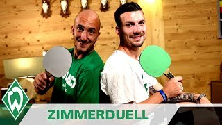 Zimmerduell: Luca Caldirola & Jerome Gondorf | SV Werder Bremen