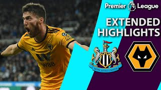 Newcastle v. Wolves | PREMIER LEAGUE EXTENDED HIGHLIGHTS | 12/9/18 | NBC Sports
