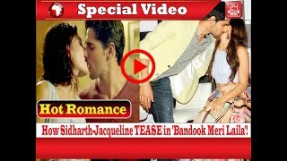 How Sidharth-Jacqueline TEASE in