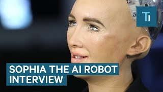 We Talked To Sophia — The AI Robot That Once Said It Would