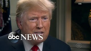 President Trump speaks out in new interview