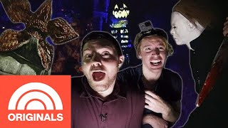 Let's Tour Halloween Horror Nights At Universal Studios | Out And About | TODAY