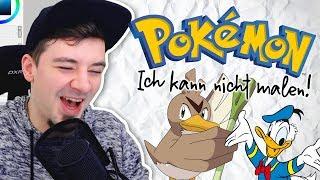 Ich male EURE Pokémon-Entwicklungsideen! I Ich Kann Nicht Malen #01