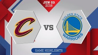 Cleveland Cavaliers vs. Golden State Warriors Game 2: June 3, 2018