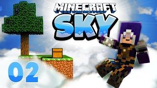 CoRRoNa wirft mit Steinen! - Minecraft SKY Ep. 02 | VeniCraft