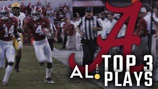Highlights: Alabama vs. Missouri top 3 plays