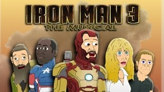 ♪ IRON MAN 3 THE MUSICAL - Animated Parody