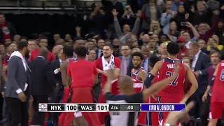 4th Quarter, One Box Video: Washington Wizards vs. New York Knicks
