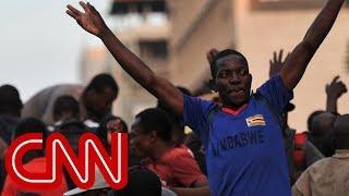 Celebrations in Zimbabwe after Robert Mugabe resigns