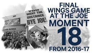 No. 18/100: Red Wings bid sad farewell to Joe Louis Arena