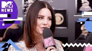 Lana Del Rey on 'Cherry' Music Video & #MeToo | GRAMMYs 2018 | MTV News