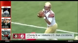 Kirk Herbstreit talks FSU vs Alabama