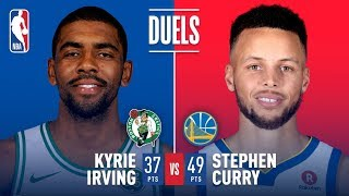 Kyrie Irving and Stephen Curry Duel at Oracle | January 27, 2018