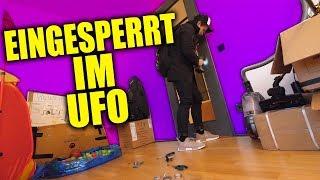 Ich habe mich selbst im UFO eingesperrt