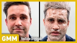 Men Test the Grandma Facial