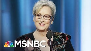 Donald Trump Goes After Meryl Streep After Golden Globes Speech | MSNBC