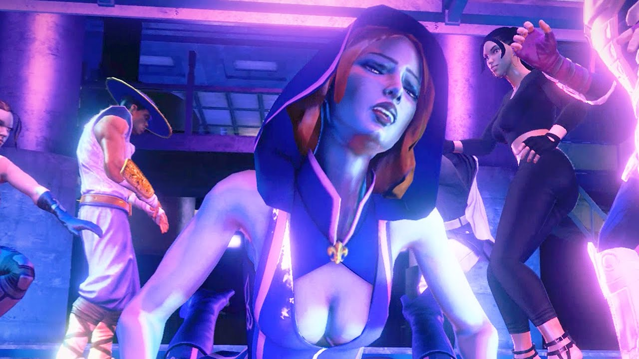 Saints row 3: naked female character hentia scene