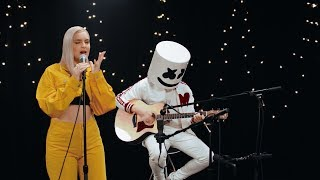 Marshmello & Anne-Marie - FRIENDS (Acoustic Video) *OFFICIAL FRIENDZONE ANTHEM*
