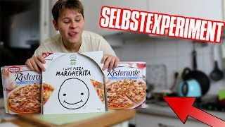 Eine Woche nur PIZZA ESSEN! 😱 - Selbstexperiment (Lecker..)