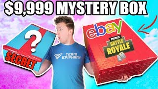 $9,999 VS $100 EBAY MYSTERY BOX ⁉️📦 Fortnite, Toys & More! (Unboxing)