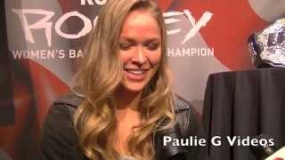 Ronda Rousey Hottest Hair Day Ever!