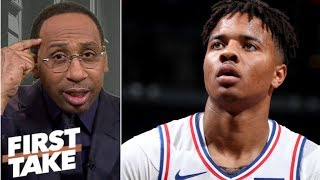 Markelle Fultz has the makings of a 'colossal bust' - Stephen A.   First Take