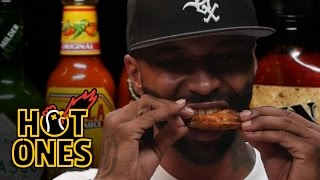 Joe Budden Keeps It Real While Eating Spicy Wings   Hot Ones