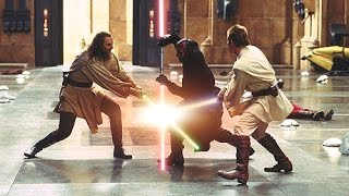 Top 10 Star Wars Lightsaber Battles In Movies and TV