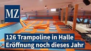 Jump-Trampolinpark eröffnet noch dieses Jahr