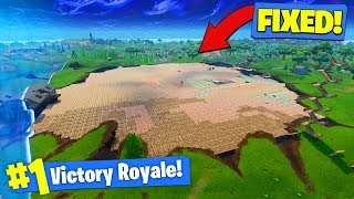 WE COVERED THE *ENTIRE CRATER* In Fortnite Battle Royale!