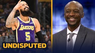 Jason Terry is encouraged by the Lakers