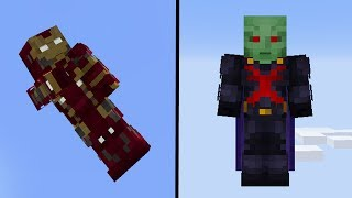 Marvel SUPERHELDEN Minecraft MOD